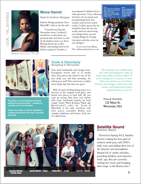 Boston Local Magazine Labor Day Issue, September 2013